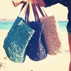 The perfect beach bag.