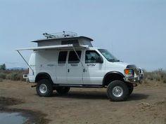 small camper vans gtrvthe drivable garagable pop top caomper pop top campervan looks rugged