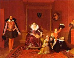 "Children in Art: Jean Auguste-Dominique Ingres: ""Henry IV Recieving the Ambassador of Spain"""