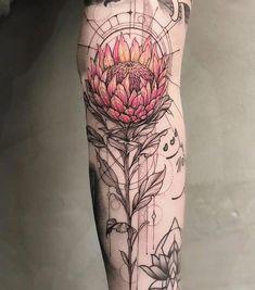 Charles saved to CharlesLucas Lua De Souza : Australian Tattoo Expo - Australisches Tattoo, Fake Tattoo, Tattoo Expo, Cool Forearm Tattoos, Tattoo Style, Forearm Tattoo Design, Wrist Tattoos, Flower Tattoos, Body Art Tattoos