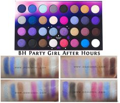 Jual BH Cosmetics Party Girl After Hours Eyeshadow Palette - Domidoki Store | Tokopedia