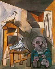 A child with pigeons - Pablo Picasso