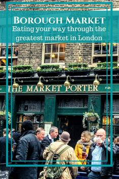 What and where to eat at Borough Market London #London #boroughmarket #streetfood #London #foodies #lunchatboroughmarket via @https://www.pinterest.com/xyuandbeyond/