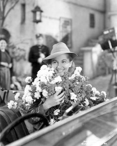 Joan Fontaine in Alfred Hitchcock's Movie 'Rebecca'
