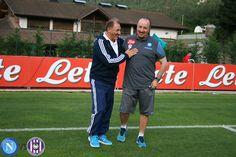 Giannis Matzourakis with Rafael Benitez