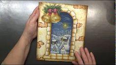Christmas Candles Coaster Set DVD - YouTube