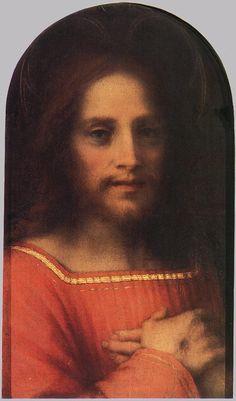 Salvator Mundi, par Andrea del Sarto