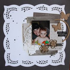 Création Stacy Scrap, Creations, Frame, Home Decor, Picture Frame, Tat, Frames, A Frame, Interior Design