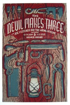 GigPosters.com - Devil Makes Three - Joe Fletcher And The Wrong Reasons