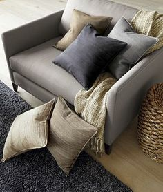 Smart & comfy at the same time...  Klyne Chair and a Half