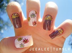 Flower Child Nails