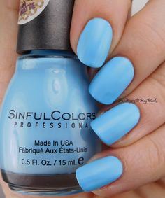 Sinful Colors Candy Hearts   Be Happy And Buy Polish https://behappyandbuypolish.com/2017/01/10/sinful-colors-kandee-johnson-nail-polish-collection/