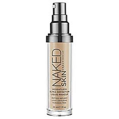 Urban Decay - Naked Skin Weightless Ultra Definition Liquid Makeup  #sephora - Might give up my Lancome for this