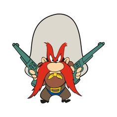 A perennial list of favorite Yosemite Sam Quotes, threats, & wisecracks, predominantly aimed in the direction of Bugs Bunny . Looney Tunes Characters, Classic Cartoon Characters, Looney Tunes Cartoons, Favorite Cartoon Character, Classic Cartoons, Disney Characters, Fantasy Characters, Yosemite Sam, Old School Cartoons