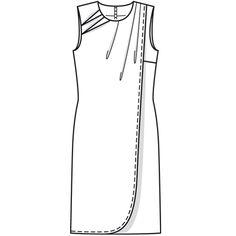 Numer Wzór 118 Magazyn 5/2009 Burda - - Sukienka wzory na sukienki Burdastyle.ru
