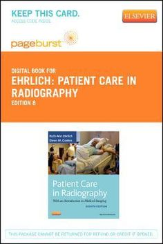 Introduction to radiologic technology text and mosbys radiography patient care in radiography pageburst e book on vitalsource retail access card fandeluxe Image collections