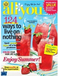 Steward of Savings :   FREE All You Magazine Subscription w/400 RecycleBank Points!