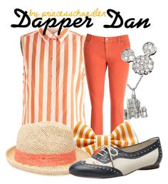 """""""Dapper Dan"""" by princesschandler ❤ liked on Polyvore featuring Disney, MICHAEL Michael Kors, Forever 21 and Valas"""