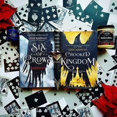 What better series for a prompt like ☕ than the Six of Crows Duology♥♥ The characters are truly unique, ruthless, and wonderful❤ I think each of the Crows could be considered both an underachiever and an overachiever♠♦♣ My favorite couple is Matthias and Nina♥♥ .  For today's #grimdragon prompt Mad Respect! I tagged three new underrated accounts for you to check out!♥♠♦♣ @bookedonhooks @dogearanddie @manoubooks .  QUESTION: Do you drink coffee?!☕ If so, how do you drink it?!☕♥…