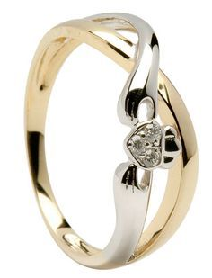 this in all gold, with a different stone... but with the price tag the only time I could afford that would be as a wedding ring - I don't want to wait that long!