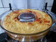 Suflê de milho e queijo!!! :-)