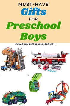 List of best boy gifts in 2019 for 3 year old, 4 year old, & 5 year old boys. Toys for creativity, fun, & from their favorite TV shows. Toys For Boys, Kids Toys, Kids And Parenting, Parenting Tips, Best Gifts For Boys, 3 Year Old Boy, Paw Patrol Toys, Lego Juniors, Raising Boys