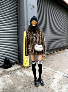 New York Fashion Week Street Style Day 3 Fall 2017 by Myoungsoo Lee, See the best street style captured at NYFW:Women's Fall 2017 at The Impression.com