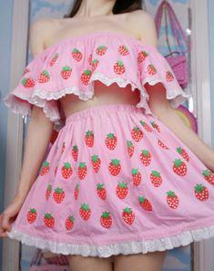Babydol Source by safayean kawaii Harajuku Fashion, Kawaii Fashion, Lolita Fashion, Cute Fashion, Cute Casual Outfits, Pretty Outfits, Girl Outfits, Fashion Outfits, Mode Lolita