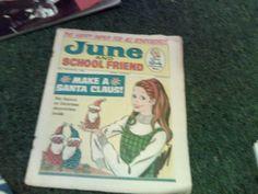 June and Schoolfriend Vintage Toys, Vintage Stuff, Sindy Doll, Childhood Memories, Nostalgia, Comic Books, Comics, School, 1960s