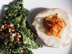 Lake Shore Lady: Italian Turkey Burgers with Caramelized Onions
