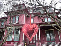 Painted Lady Elmira NY  Elmira's Near Westside District contains the most Victorian homes per capita in North America — 480 structures within 30 blocks.