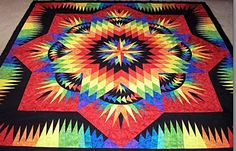 Prairie Star, Quiltworx.com, Made by Kay Azzi.