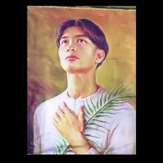 Saint Pedro Calungsod  Pedro Calungsod (c. 1654[1] – 2 April 1672) was a young Roman Catholic Filipino migrant, sacristan and missionary catechist, who along with Blessed Diego Luis de San Vitores, suffered religious persecution and martyrdom on Guam for their missionary work in 1672. Calungsod was beatified on 5 March 2000 by Blessed Pope John Paul II. On 18 February 2012, Pope Benedict XVI officially announced that Calungsod will be canonised on 21 October 2012.[3]