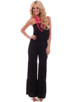 fcccbab258b Lime Lush Boutique - Black Solid Strapless Jumpsuit