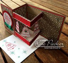 Rose Packer | Creative Roses  - Seasonal Bells Box Z-fold