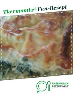 Feine Lachs Lasagne Fine salmon lasagna from green – eyes. A Thermomix ® recipe from the main course with fish & seafood category www.de, the Thermomix ® community. Zoodle Casserole, Casserole Dishes, Casserole Recipes, Crockpot Recipes, Shellfish Recipes, Seafood Recipes, Vegetarian Recipes, Zucchini Lasagna, Green Eyes