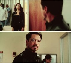 "Tony Stark and Natasha Romanoff -- when friends become betrayers.  (""Captain America: Civil War"")"