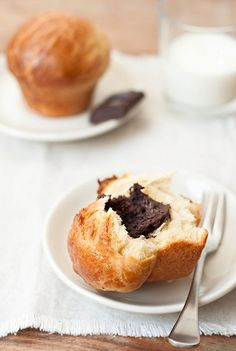 Chocolate Brioche ... Rather simple and pretty good.  Id like to try this again.  The dark chocolate in the middle was a nice touch.