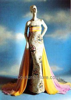 Couture Allure Vintage Fashion: Valentino at Dessès - 1954