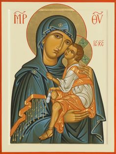 Zenon icon of Holy Theotokos Religious Images, Religious Icons, Religious Art, Madonna Art, Madonna And Child, Paint Icon, Mama Mary, Russian Icons, Religious Paintings
