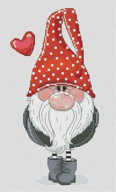 Santa Cross Stitch, Counted Cross Stitch Patterns, Cross Stitch Designs, Cross Stitch Embroidery, Cross Stitch Patterns Free Disney, Free Cross Stitch Charts, Cross Stitch Needles, Christmas Cross, Christmas Diy