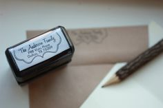 Personalized Self Inking Stamps via @Sassy Steals.