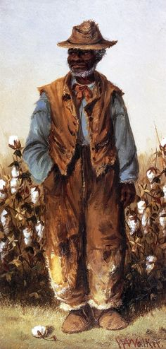 The Athenaeum - Negro Man in Cotton Field (William Aiken Walker - )