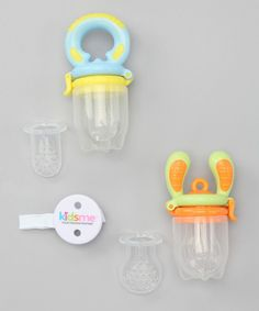 Take a look at this Kidsme Blue Food Feeder Essential Set on zulily today!