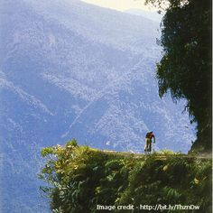 """The world's most dangerous #road """"Yungas Road"""", kills 200-300 #travelers each year. Where in the world is it?   Hint: Check link :)"""