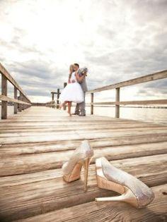 sweetest wedding photo