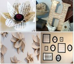 10 Ways to Decorate with Sheet Music.  Links to several different things - even has FREE sheet music printables.  @Becca Ingram @Luone I