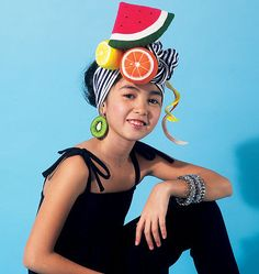 Vintage McCalls sewing pattern for Carmen Miranda Halloween hat. So great!