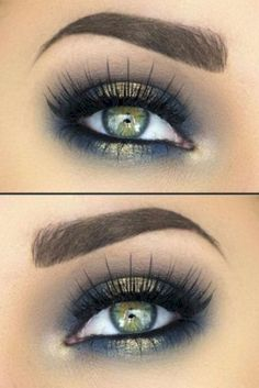 41 Hottest Smokey Eye Makeup Ideas #Outfit https://seasonoutfit.com/2018/01/17/41-hottest-smokey-eye-makeup-ideas/