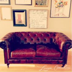 i love a good flea market find #couch Love LCs style!